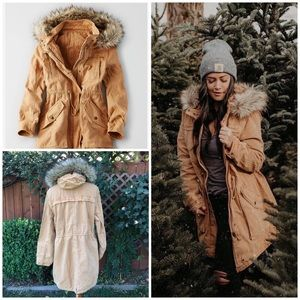 New American Eagle Outfitters Classic Parka Jacket